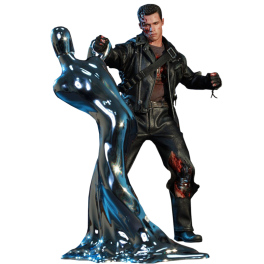 Hot Toys T-800 Terminator 2 DX13 Battle Damage Version Exterminador