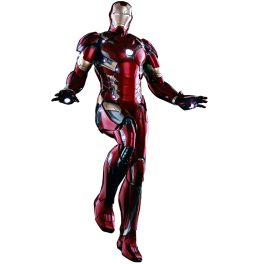 Hot Tots Captain America: Civil War Iron Man Mark 46