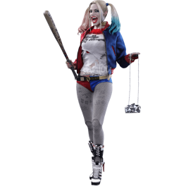 Hot Toys Harley Quinn Suicide Squad,1/6 Deluxe