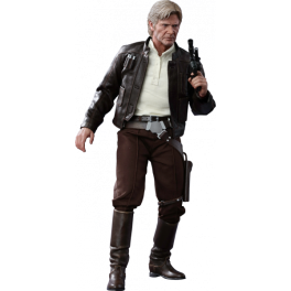 Hot Toys Han Solo em Star Wars: The Force Awakens 1/6