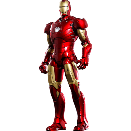 Hot Toys Iron Man Mark III - 1/6 - Diecast  Versão Exclusiva ARC