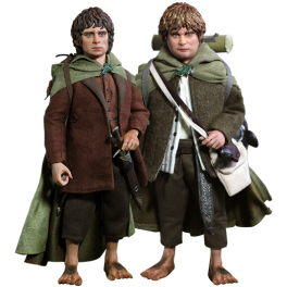 Asmus Toys The Lord of The Rings Frodo Baggins & Samwise Gamgee 1/6 Figure