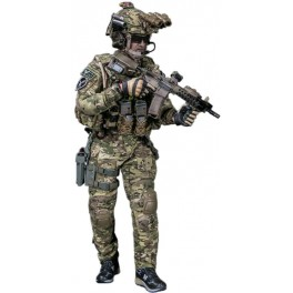 DAM Toys Elite Series FBI HRT AGENT HOSTAGE RESCUE TEAM